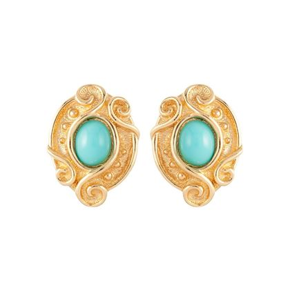 1980s-vintage-christian-dior-faux-turquoise-scroll-clip-on-earrings-2