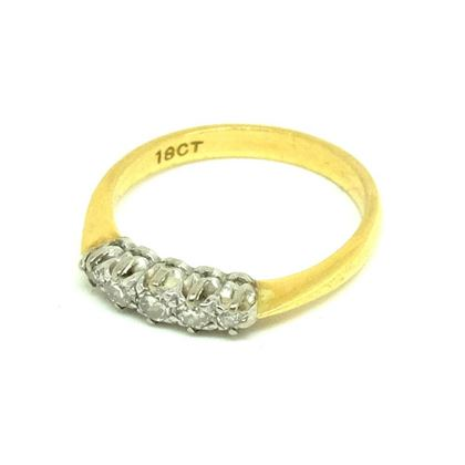 antique-victorian-five-diamond-18ct-gold-ring-6