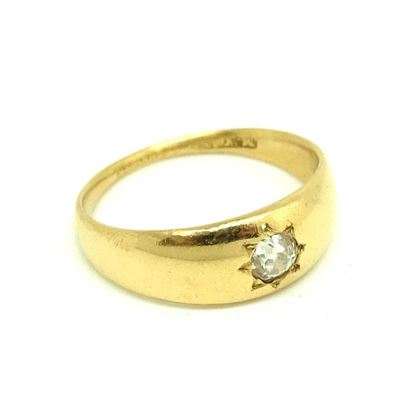 antique-victorian-diamond-18ct-yellow-gold-ring-2