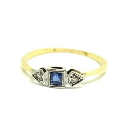 antique-art-deco-sapphire-diamond-18ct-gold-ring-2