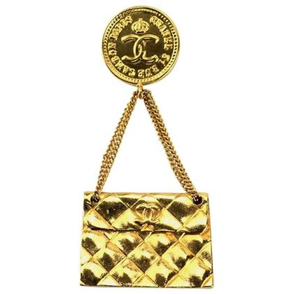 chanel-gold-plated-quilted-flap-bag-drop-pendant-pin-brooch-2