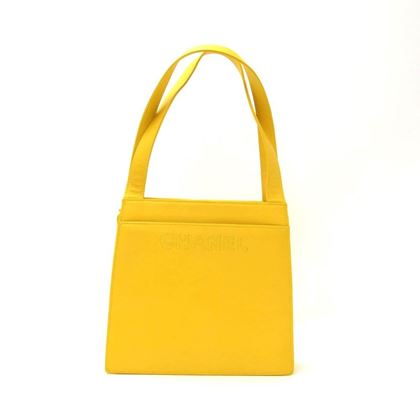 chanel-yellow-lambskin-leather-hand-bag-2