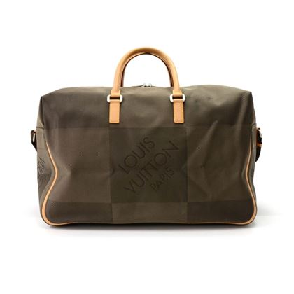 louis-vuitton-sable-souverain-dark-brown-damier-geant-canvas-boston-bag-3