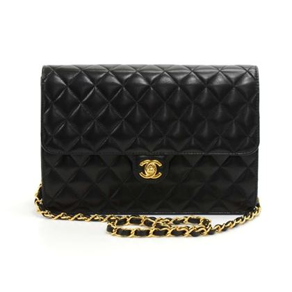 chanel-10-classic-black-quilted-leather-half-flap-shoulder-bag-ex-2