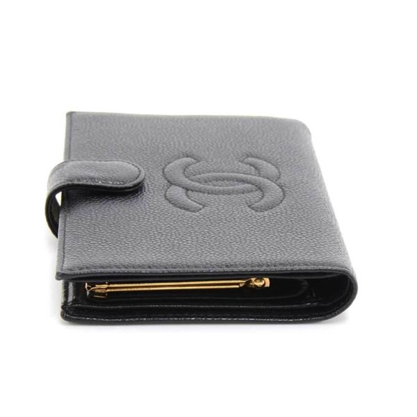 chanel-black-caviar-leather-cc-logo-long-wallet-2