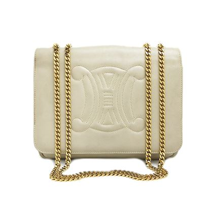 celine-blazon-stitch-w-chain-shoulder-bag-2