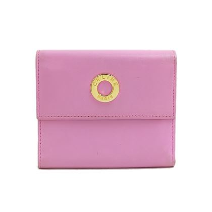 celine-circle-logo-leather-fold-wallet-2