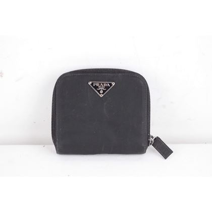 prada-black-vela-tessuto-canvas-zip-compact-wallet
