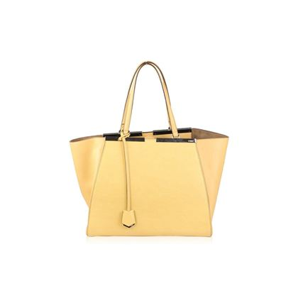 fendi-cream-leather-large-3jours-tote-mint-yellow-shopping-bag-handbag-2