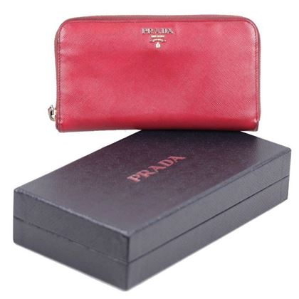 prada-red-saffiano-leather-continental-zip-wallet-coin-purse-w-box-3