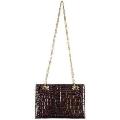 gucci-vintage-brown-crocodile-leather-shoulder-bag-w-chain-straps-3