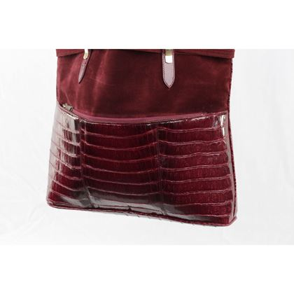 vintage-burgundy-suede-and-crocodile-tote-shoulder-bag-shopping-bag-2