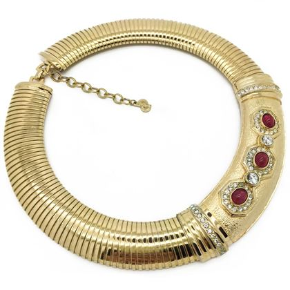 christian-dior-vintage-necklace-1990s-goldtone-collar