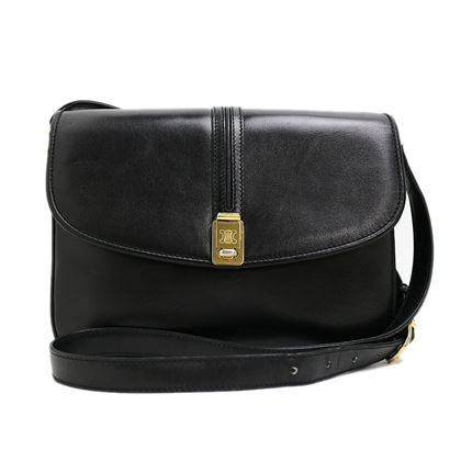 celine-blazon-leather-shoulder-bag-4