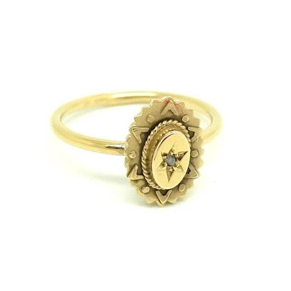 antique-victorian-ornate-diamond-9ct-gold-ring-2