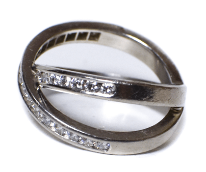 platinium-diamond-crossover-ring-double-band-silver-size-575-5-34