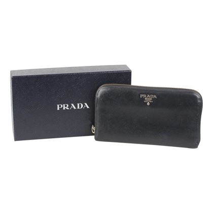 prada-black-saffiano-leather-continental-zip-wallet-coin-purse-with-box
