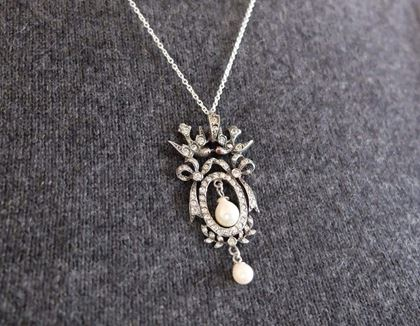 antique-edwardian-1901-1910-sterling-silver-kissing-swallow-paste-necklace