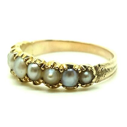 antique-victorian-pearl-9ct-gold-ring-size-n