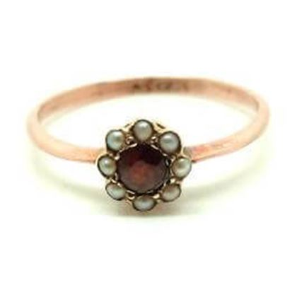 antique-victorian-pearl-garnet-9ct-rose-gold-ring-size-o