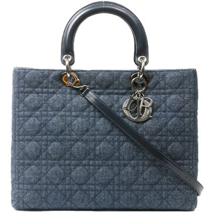 dior-denim-lady-cannage-stitch-2way-bag-l-blue