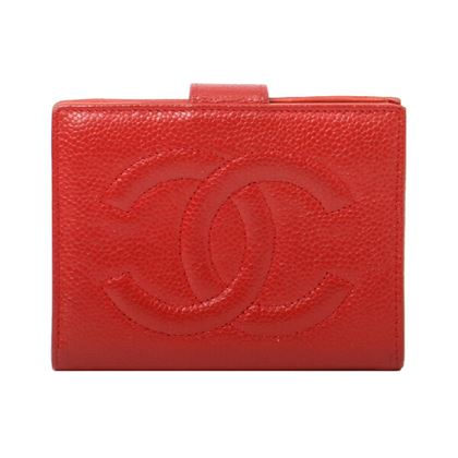 chanel-caviar-skin-cc-mark-stitch-wallet-red-2