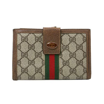 gucci-gg-pattern-logo-plate-wallet-brown-3