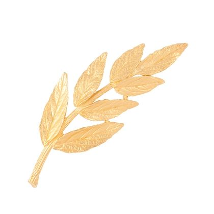 1960s-vintage-trifari-brushed-leaf-brooch-3