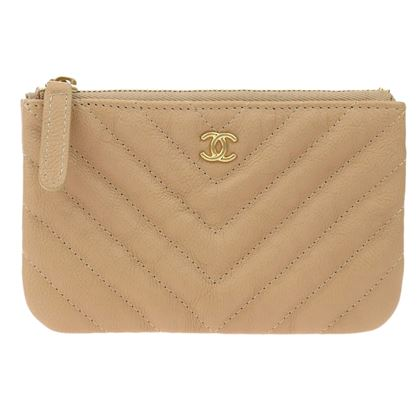 chanel-beige-goatskin-chevron-quilted-small-cosmetic-pouch