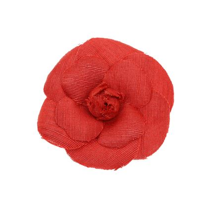 chanel-vintage-red-fabric-camellia-brooch
