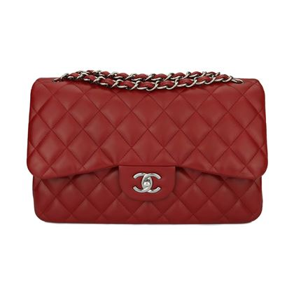 chanel-double-flap-jumbo-red-lambskin-light-gunmetal-hardware-2014
