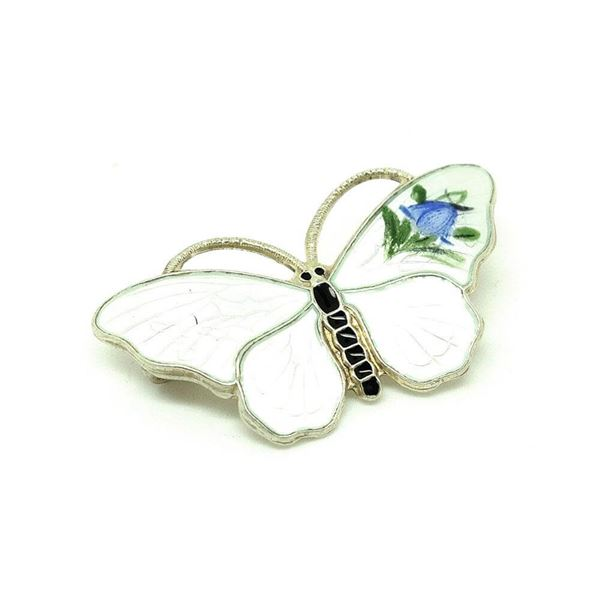 vintage-1980s-enamel-hand-painted-norwegian-butterfly-brooch