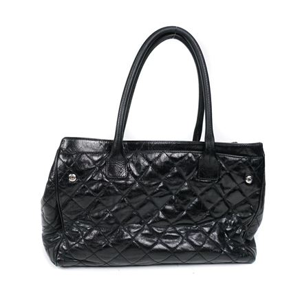 chanel-xl-black-quilted-handbag
