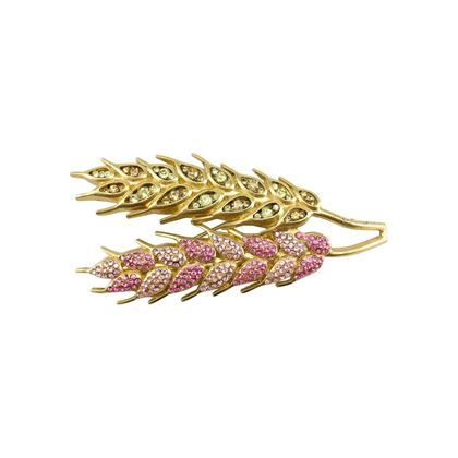 chanel-pink-and-yellow-gold-plated-wheat-sheaf-brooch-2003