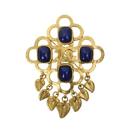 chanel-botanical-design-cc-mark-stone-fringe-brooch-blue