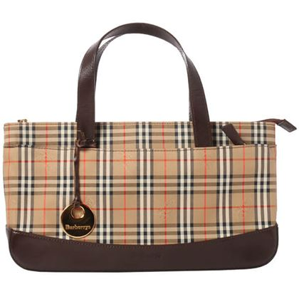 burberry-nova-check-pattern-handbag-brown