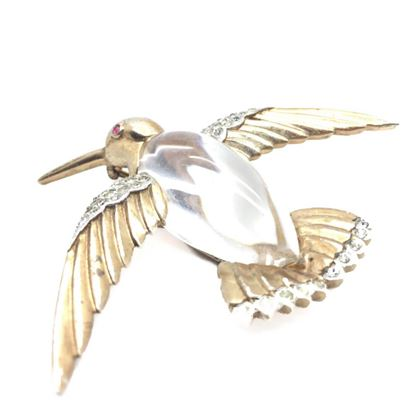 trifari-vintage-brooch-jelly-belly-bird-in-sterling-silver-1940s
