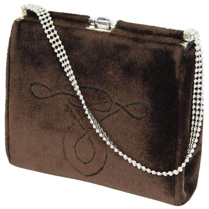 cesare-piccini-pochette-velvet-brown-italian-evening-bag-1960s