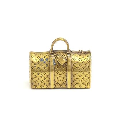 louis-vuitton-gold-keepall-paperweight-vip-limited-collectible