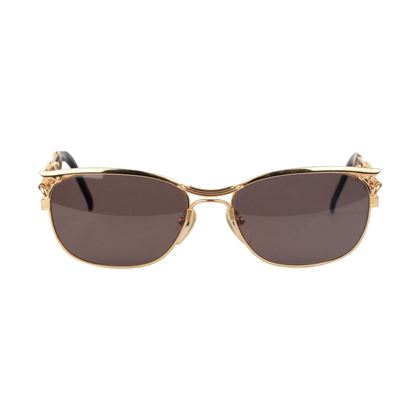 jean-paul-gaultier-vintage-gold-rare-sunglasses-56-4171-screws-nos-w-case