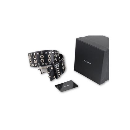 dolce-gabbana-black-leather-belt-with-studs-size-4290