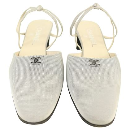chanel-cc-silver-and-grey-with-leather-strap-sandals-heels