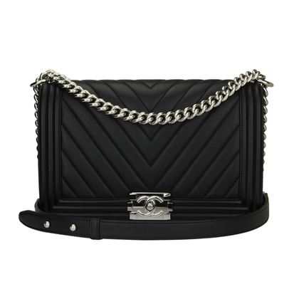 chanel-new-medium-boy-black-calfskin-chevron-shiny-silver-hardware-2016