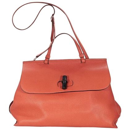 orange-gucci-daily-pebbled-leather-satchel