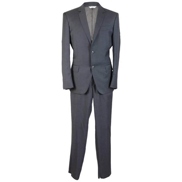 pierre-balmain-gray-suit-jacket-wool-pants-trousers-blazer-mens-size-48-it