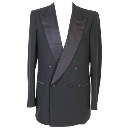 brioni-vintage-mens-black-wool-and-satin-double-breasted-smoking-jacket