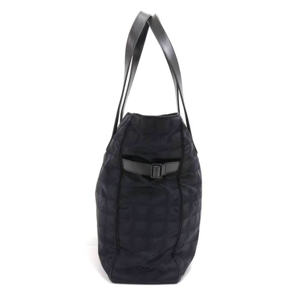 chanel-travel-line-black-jacquard-nylon-tote-bag-3