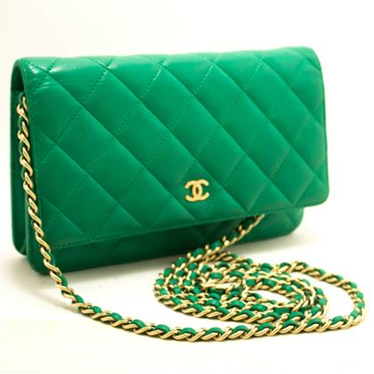 chanel-green-wallet-on-chain-woc-shoulder-bag-crossbody-clutch
