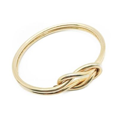 dior-vintage-bangle-gilt-knot-1968