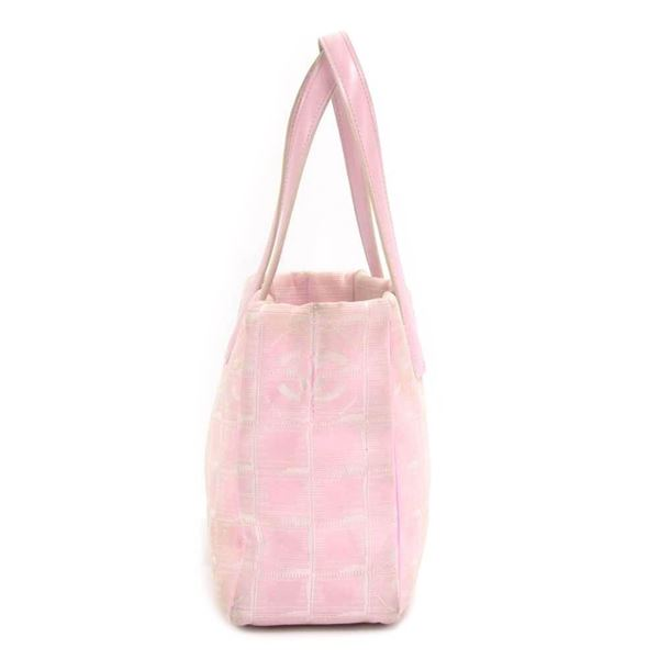 chanel-travel-line-light-pink-jacquard-nylon-mini-tote-bag